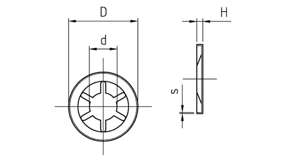 Шайба STARLOCK
